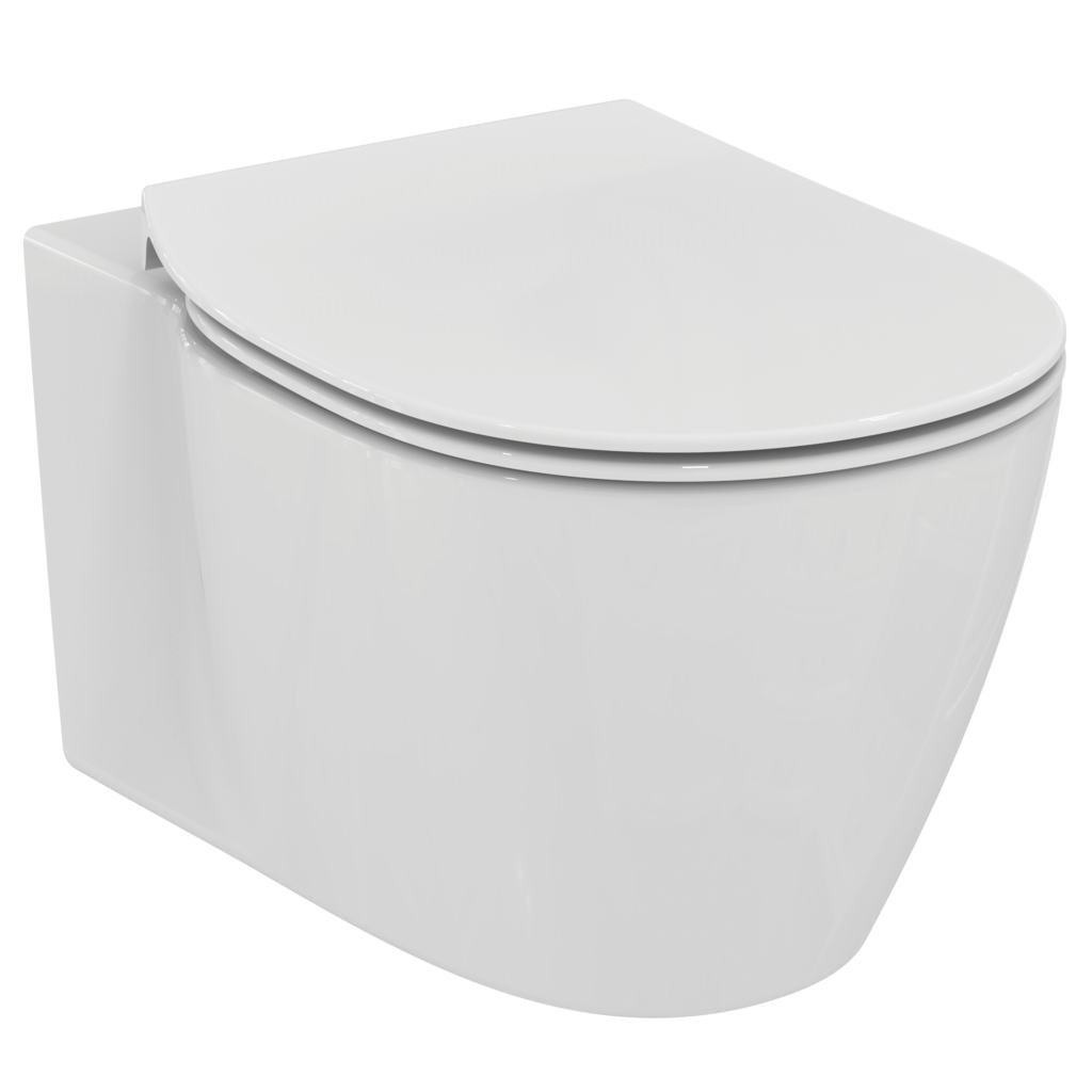 WC suspendu Aquablade® avec fixation invisible.