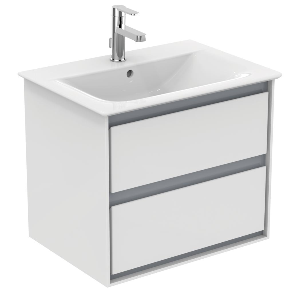 Product details e0818 meuble lavabo 2 tiroirs 600x440 for Declaration meuble