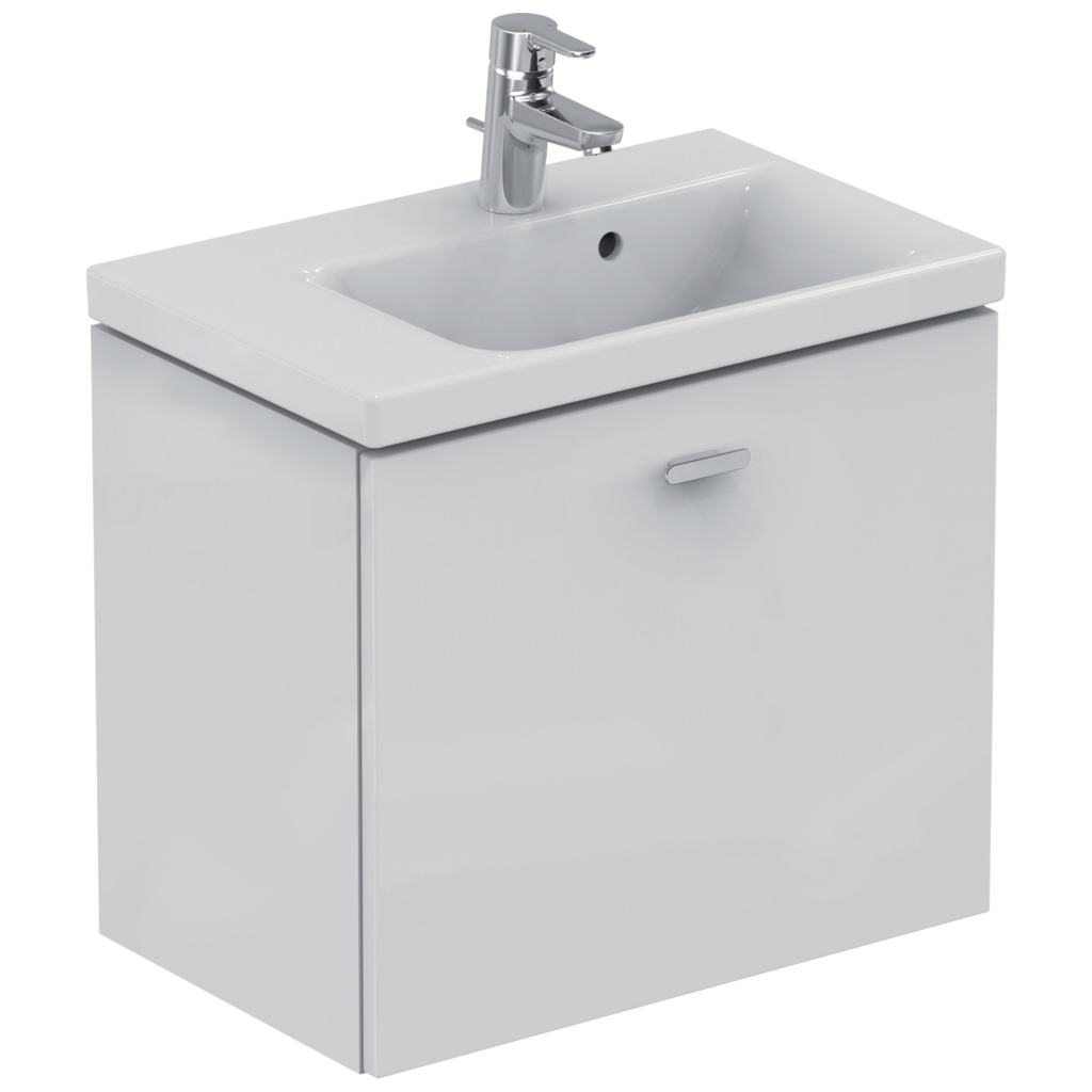 Product details e0341 meuble lavabo space 600 mm gauche for Declaration meuble