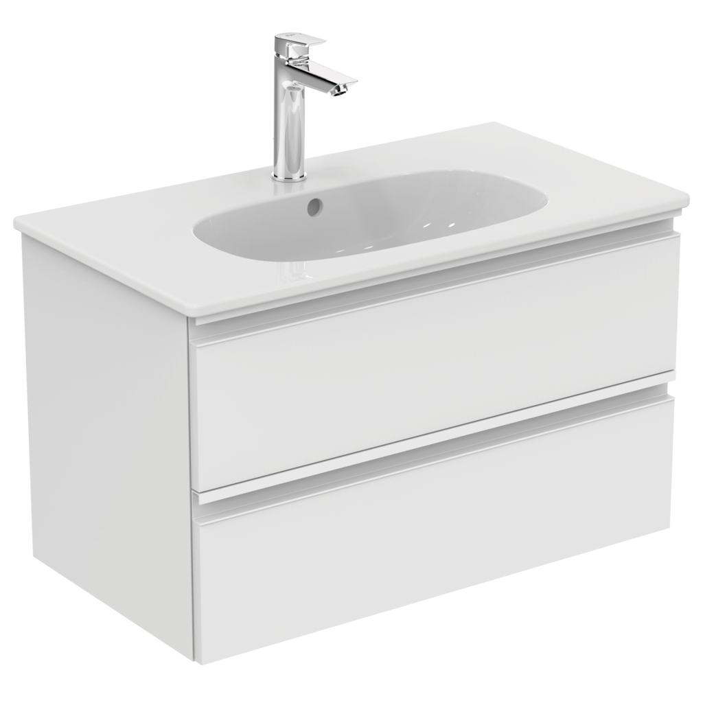 Product details t0051 meuble lavabo 800mm 2 tirroirs for Declaration meuble