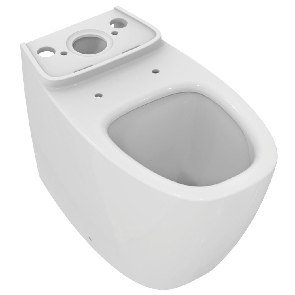 Staande WC back to wall Aquablade® diepspoel H/PK voor combinatie